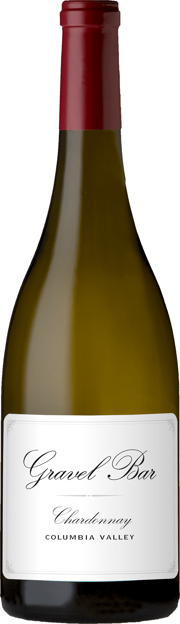 A bottle of the Chardonnay
