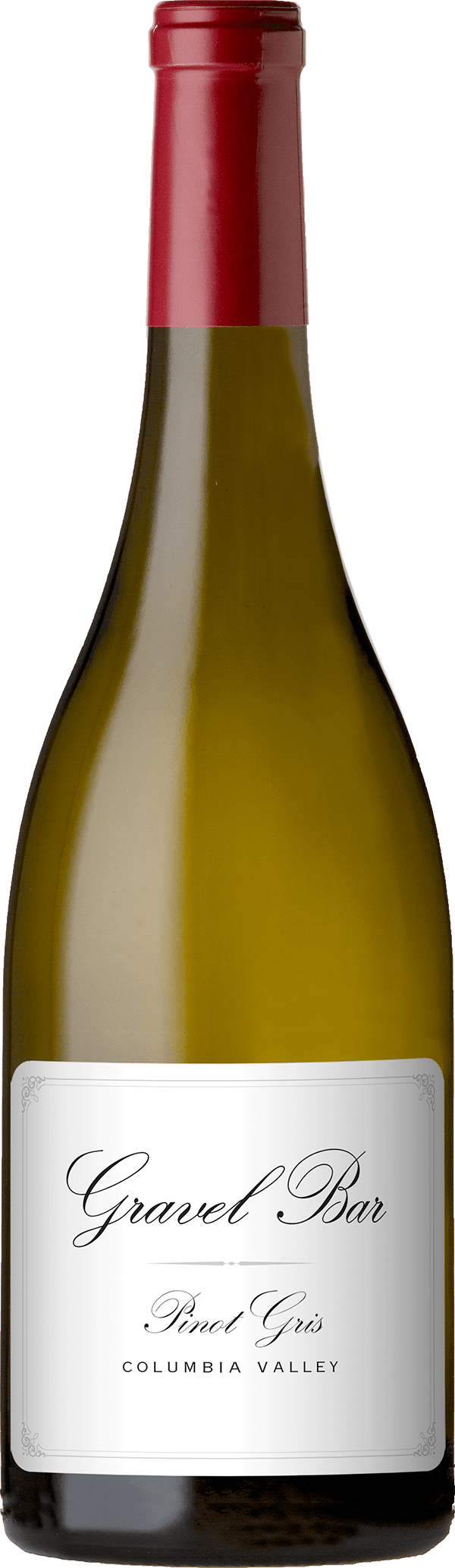 A bottle of the Pinot Gris